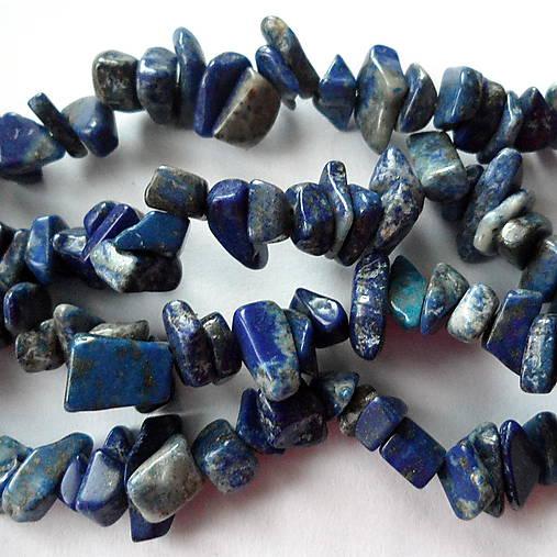Minerály-zlomky-návlek (Lapis Lazuli-cca 85cm)