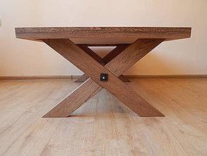 """Nábytok - """"Vidiecky"""" konferenčný stolík (Farm coffee table) - 8484831_"""