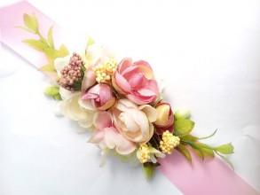 Opasky - Kvetinový opasok - 8486782_
