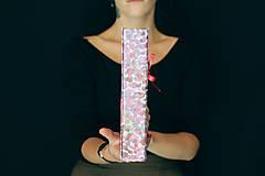 Papiernictvo - Fotoalbum klasický, papierový obal s potlačou farebných škvrniek - 8484941_