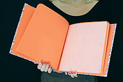 Papiernictvo - Fotoalbum klasický, papierový obal s potlačou farebných škvrniek - 8484943_