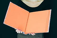Papiernictvo - Fotoalbum klasický, papierový obal s potlačou farebných škvrniek - 8484944_