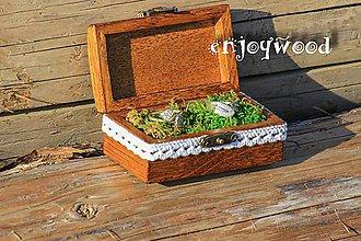 Krabičky - krabička na prstene - 8486295_