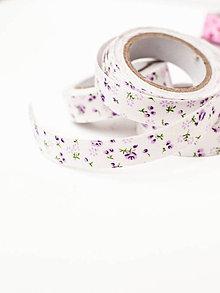 Textil - WASHI / bavlnené lepiace pásky