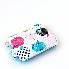 Kľúčenky - Kľúčenka Cats and apples - 8485731_