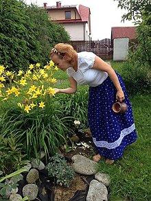 Sukne - Dámska dlhá sukňa - 8484972_