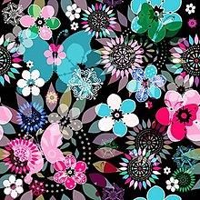 Textil - Motýle - nepremokavý materiál - 8488174_