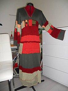 Šaty - etno šaty ,,Andy,, - 8487621_