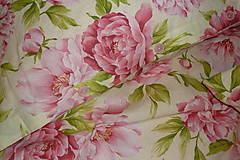 Úžitkový textil - Svadobný dar Obliečky Pivónie s menami - 8488014_