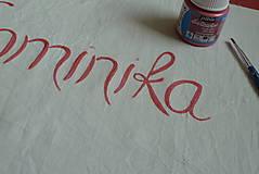 Úžitkový textil - Svadobný dar Obliečky Pivónie s menami - 8488483_