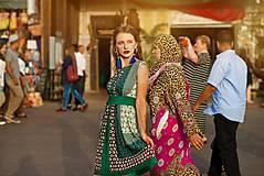 Náušnice - Voyage à Marrakech n.2 - sutaškové náušnice - 8487550_