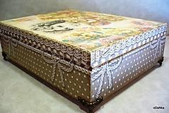 Krabičky - drevená šperkovnica so zrkadlom Create dream - 8490165_