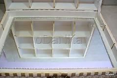 Krabičky - drevená šperkovnica so zrkadlom Create dream - 8490170_