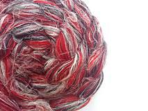 Textil - Zmes merino/ ľan - Škorpión - 8490362_