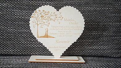 Darčeky pre svadobčanov - Poďakovanie rodičom 4 - 8490105_