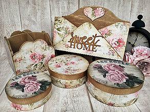 Krabičky - Súprava roses - 8489874_