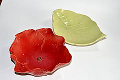 Nádoby - Keramická miska Divý mak - 8487610_
