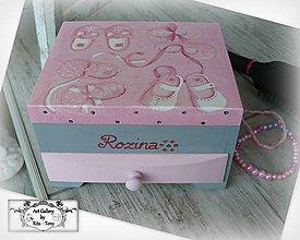 "Krabičky - Komodka ""Baby""-darček ku krstu :) - 8488663_"