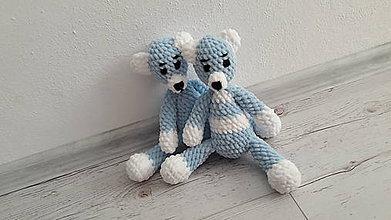Hračky - macíkovia mäkkučký- modručký - 8489921_