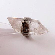 Prstene - Cínovaný prsteň - Krištáľový špic - 8492601_