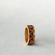 Prstene - Eternal - drevený prsteň - 8492569_
