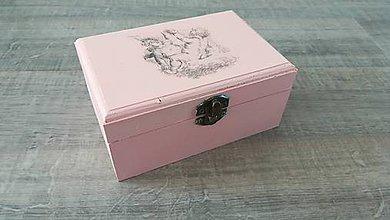 Krabičky - Šperkovnica Angel - 8492002_
