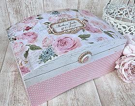 Krabičky - Svadobná truhlica - 8492031_