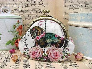 Peňaženky - Starobylý koník - taštička - 8491350_