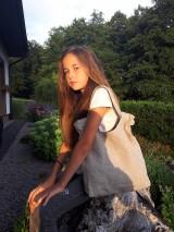 - Ľanová taška Gris/Nature - 8492919_