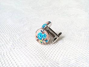 Šperky - Vintage manžetové gombíky - 8493637_