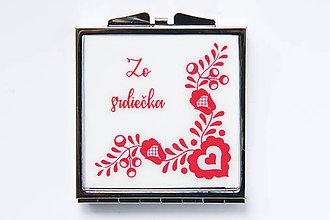 Zrkadielka - Zo srdiečka - 8494567_