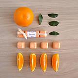 Svietidlá a sviečky - Pomaranč - vonný vosk - silica - 8496269_