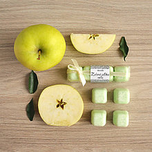 Svietidlá a sviečky - Zelené jablko - aróma - 8496192_