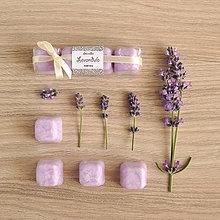 Svietidlá a sviečky - Levanduľa - vonný vosk - silica - 8496306_