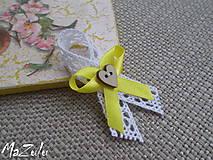 Pierka - vintage svadobné pierko - malé - 8496468_