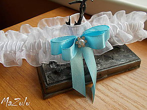 Bielizeň/Plavky - svadobný podväzok s