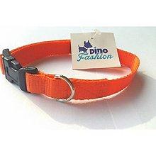 Pre zvieratká - Oranžový obojok - 8494205_