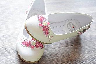 2a4120763d Svadobné topánky -