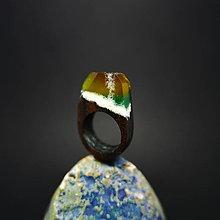 Prstene - Drevený prsteň: Bifröst no. 8 - 8496294_