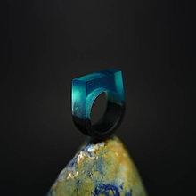 Prstene - Drevený prsteň: Prvý bozk Ľadovej kráľovny - 8496604_