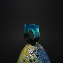 Prstene - Drevený prsteň: Druhý bozk Ľadovej kráľovny - 8496633_