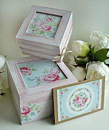 Krabičky - Drevené krabičky/gratulačná karta - 8495777_