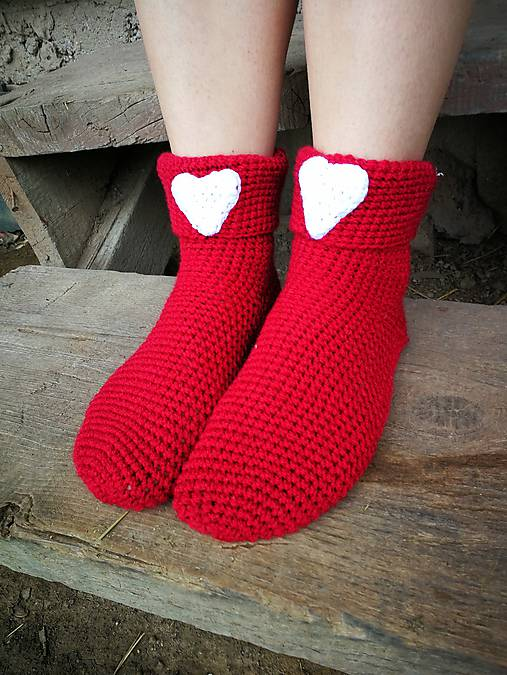Červené ponožky