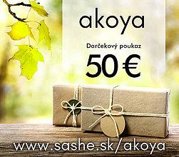 Darčekové poukážky - Darčekový poukaz 50 Eur - 8494852_