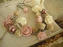 Náramky - Náramok Vintage Roses - 8494696_