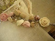 Náramky - Náramok Vintage Roses - 8494700_