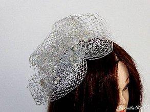 Ozdoby do vlasov - Fascinátor - 8495599_