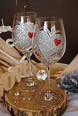 Nádoby - Svadobné poháre - 8498436_
