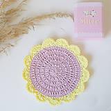 Úžitkový textil - Podložka pod pohár, čajník či kvetináčik