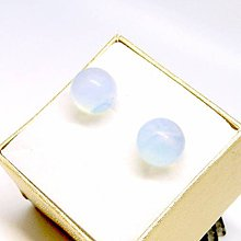 Náušnice - Opalite Stud Earrings / Puzetkové náušnice s opalitom /0515 - 8496992_